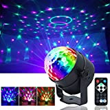 disco lights Sound Activated Party Lights with Remote Control Dj Lighting RBG Disco