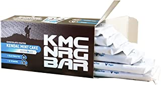 KMC NRG BAR: Delicious Chocolate Coated Kendal Mint Cake Recharged for Sports, Run, Hike, Cycle (6 x 50g)