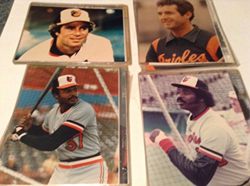 54 8 BY 10 1970S BALTIMORE ORIOLES BASEBALL PHOTOS