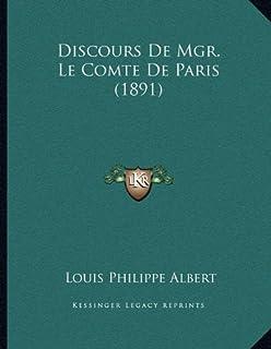 Discours de Mgr. Le Comte de Paris (1891)