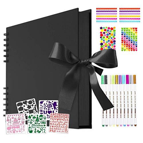 O-Kinee Álbum de Foto, Libro de Recuerdos para Pegatinas Cumpleaños, Aniversario, Boda,...