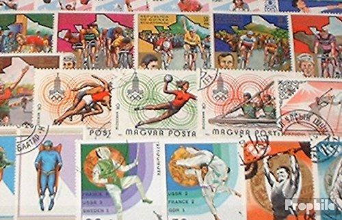 Prophila Collection Motivazioni 300 Diversi Sport Francobolli (Francobolli per i Collezionisti) Altri Sport