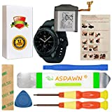 for 42mm Samsung Galaxy Watch Battery EB-BR810ABU Samsung Galaxy Gear S4 Battery Replacement, for SM-R810 SM-R815 with Repair Tool Set + Installation Instruction