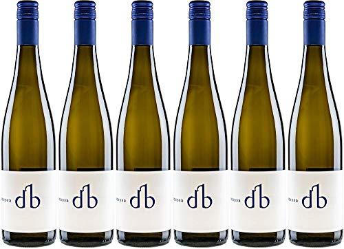 6x Muskateller feinherb 2019 - Weingut Bender, Pfalz - Weißwein
