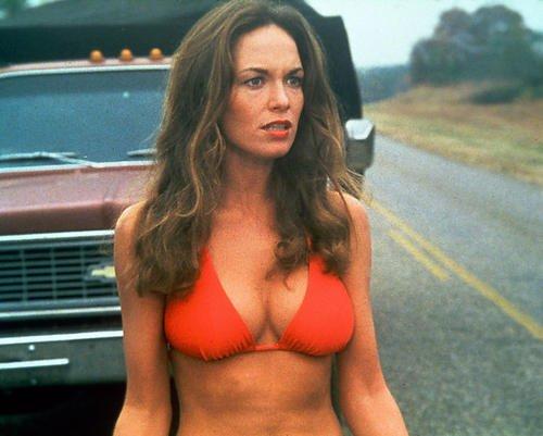 Dukes Of kommt selten allein Busty in rot Bikini Catherine Bach 10x 8Werbe Foto
