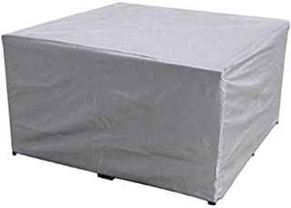 Garden Furniture Cover Dining Table Cover 210D Heavy Duty Oxford Polyester Rectangular Outdoor Furniture Cover Waterproof ...
