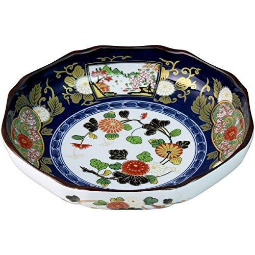 ランチャン(Ranchant) 八寸盛皿 マルチ Φ24x5.4cm 献上古伊万里 有田焼 日本製