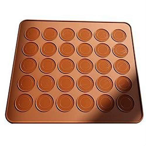 ZHEBEI Macaron-Form für Macarons, 30 Mulden, Backform