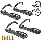 Metal Soporte De Pared Para Bicicleta Soporte Para Colgar Bicicleta Pared, Gancho Para Colgar Bicicleta Colgador De Bici Para Pared Con Protección