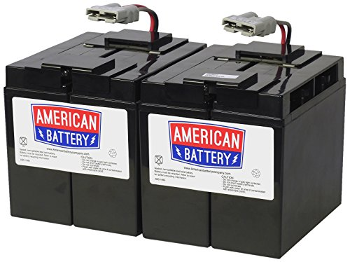 Replacement Battery - Compatible with APC RBC55