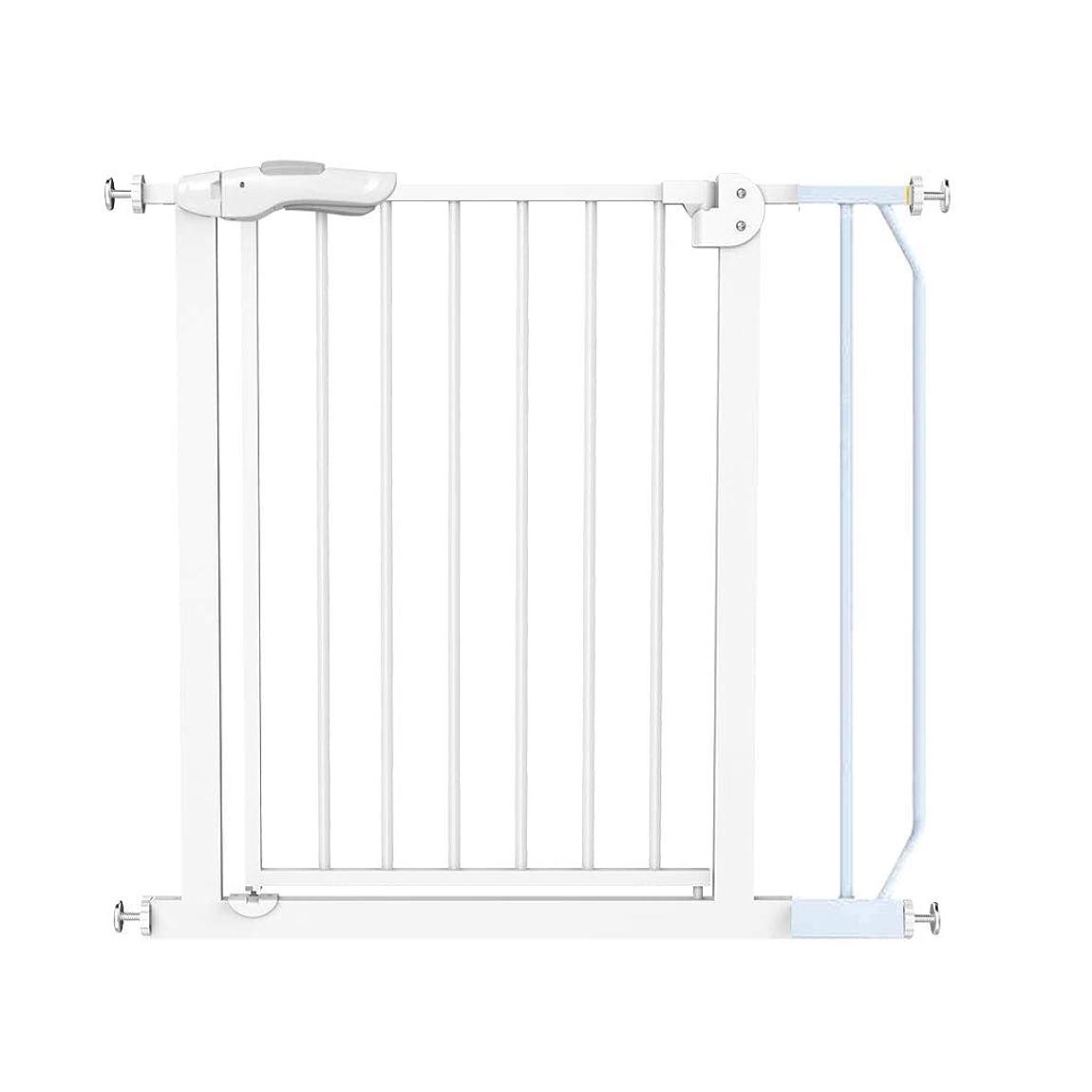 感情の可塑性立法QIQIDEDAIN 安全ゲート階段フェンス子供安全ゲートフェンスフェンス子供安全フェンス犬ドア柵安全防護階段 (Size : 85-94cm)