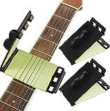 tiopeia 2 Pcs Nettoyeur de Cordes Outil de Nettoyage pour Guitare et Ukulélé Instruments à Corde Nettoyant Outils de Nettoyage et Entretien pour Guitar, Basse, Mandoline, Ukulélé