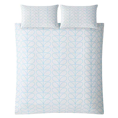 Orla Kiely * Duvet Covers * Linear Stem Neptune Blue Duvet Cover, King 225x200cm