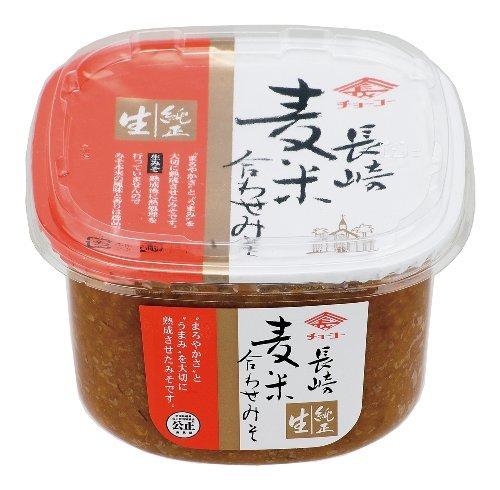 チョーコー醤油 チョーコー 長崎麦米合わせみそ 750g (カップ) ×4セット