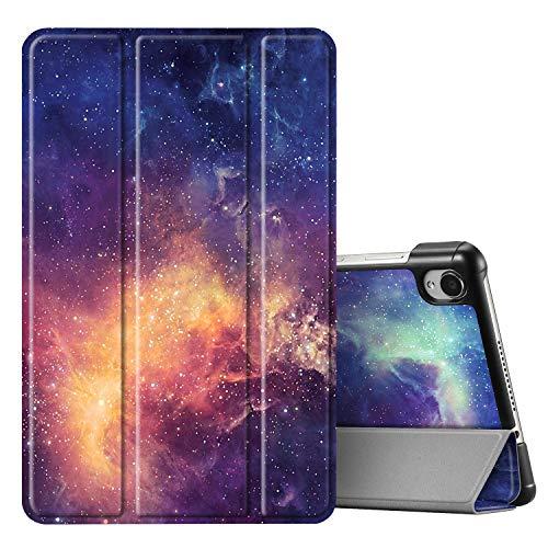 Fintie SlimShell Funda Compatible con Lenovo Tab M8 / Smart Tab M8 / Tab M8 FHD - Súper Delgada y Ligera Carcasa con Función de Soporte, Galaxia