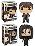 Funko POP! Harry Potter: Neville Longbottom + Bellatrix Lestrange - Set NEW...