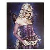 AZTeam Victoria Frances Katze Pinup Gothic Angel Poster