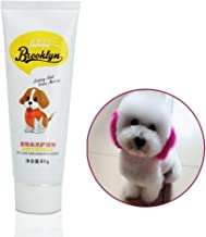 Dog Hair Dye, New Pets Hair Dye - Safe Bright/Hypoallergenic/Permanent Non-Toxic/Fun Shade, 80g Pet Dog Cat Hair Coloring Dyestuffs Dyeing Pigment Agent Supplies for Creative Grooming