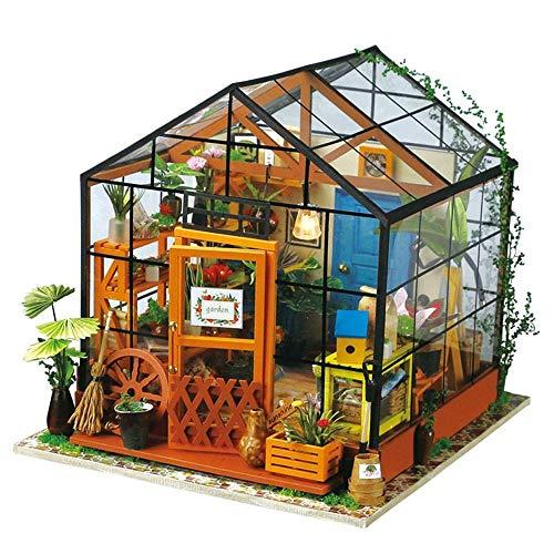 Robotime Miniatur Puppenhaus Kit DIY Holz Haus (Cathy's Flower House)