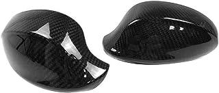 heacker 1 Paar rechts//Links 51167135097//51167135098 Auto-R/ückspiegel-Abdeckung Shell Ersatz f/ür BMW E90 2005-2007
