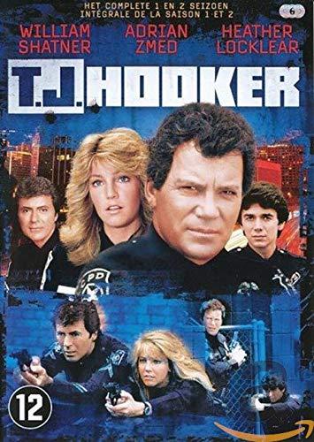 T.J. Hooker - Staffel 1 + 2 (6 DVDs) [erste Folge nur mit englischem Originalton mit dt. Untertiteln]