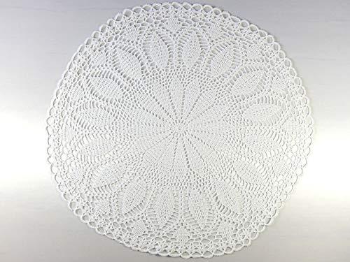 Weißes Häkeldeckchen Deckchen Tischschmuck Geschenk