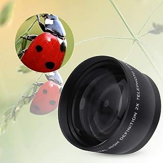 Hopcd Lente telefoto Profesional 55MM 2X Zoom HD Teleobjetivo Montaje Lente de conversión de cámara Vidrio óptico Lentes d...