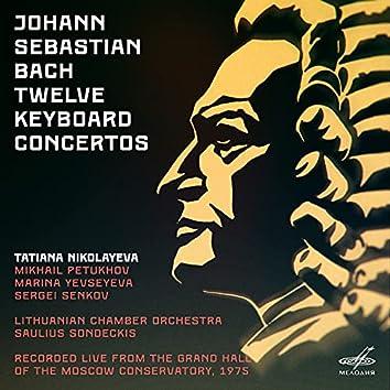 Bach: Twelve Keyboard Concertos (Live)