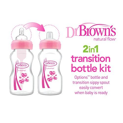Dr. Brown's WB9191P3 - Kit de transición biberones