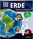Rätseln und Stickern: Erde