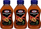 Kraft, Sweet & Sour Sauce, 12oz Squeeze Bottle (Pack of 3)