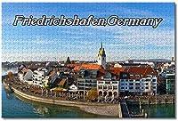 BEI YU MAN.co ドイツ大人のためのフリードリヒスハーフェンジグソーパズル子供1000ピースギフトのための木製パズルゲーム家の装飾特別な旅行のお土産