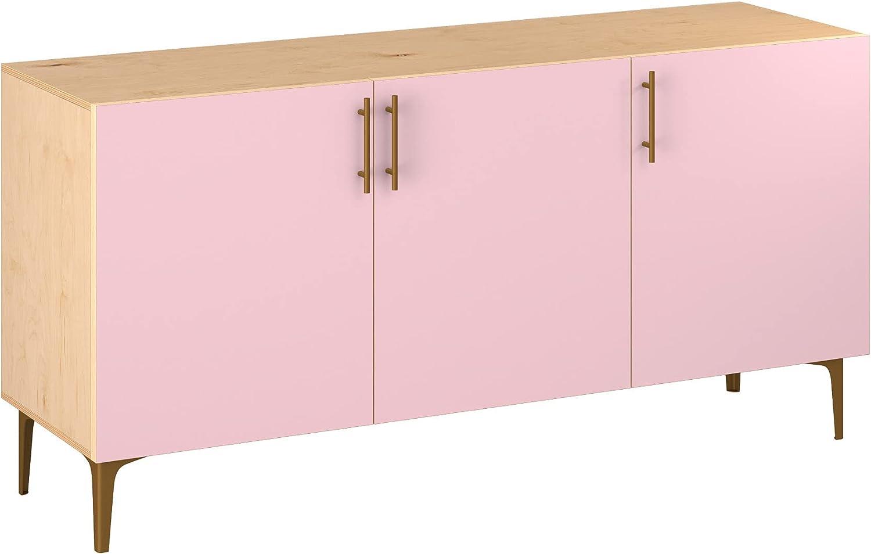 Poppy Sideboard Dallas Mall - Natural Velma Design Sty 5 Colors 11 In stock in Base