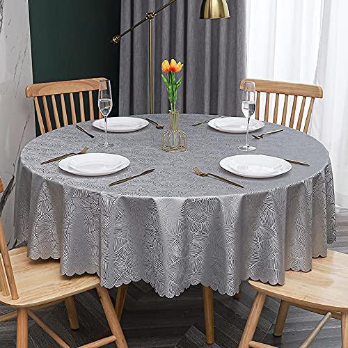 sans_marque, tovaglia lavabile in cotone e lino, tovaglia con cuciture a nappa, tovaglia per tavolo da pranzo, adatta per la decorazione di tavolo da cucina e tavolo da pranzo, 240 cm