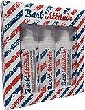 Barb'attitude - Coffret De 3 Produits Soin Barbe - Huile De Barbe 30ml, Shampooing Barbe 30ml Et Gel De Rasage 30ml