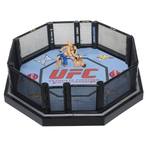 Big Sale Best Cheap Deals UFC Ultimate Fighting Jakks Pacific DELUXE Ring Official Scale Octagon