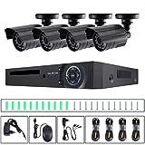 RHNE Cámara de Infrarrojos A4M900C1G1 Cámara Profesional de vigilancia para Interiores y Exteriores para el hogar, cámara de Seguridad, Color Negro