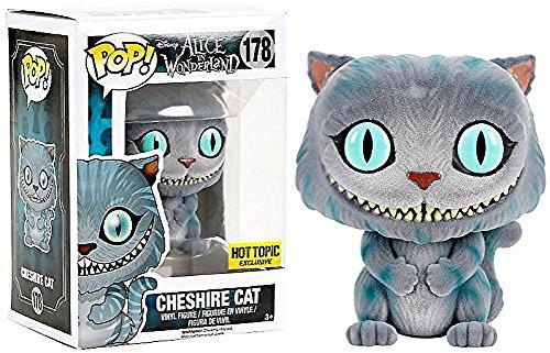 Funko–178–Pop–Disney–Alice in Wonderland–Cheshire Cat Flocked