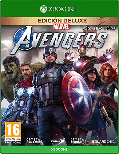 Jogo Marvel Avengers Deluxe Edition Xbox One