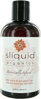Sliquid Organics Sensation Lubricant, 8.5 Ounce
