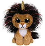 Ty - TY36252 - Beanie Boo's - Ramsey le lion licorne 15 cm