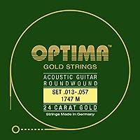 オプティマ(OPTIMA) アコースティックギター弦 24Kゴールド 1747.M