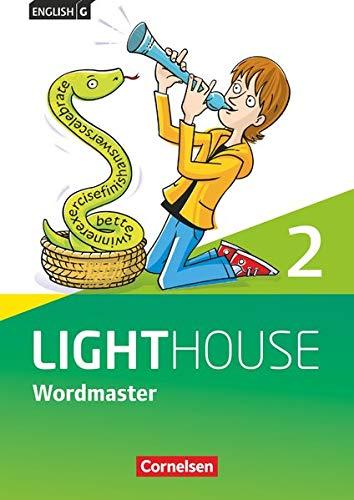 English G Lighthouse - Allgemeine Ausgabe - Band 2: 6. Schuljahr: Wordmaster mit Lösungen - Vokabellernbuch