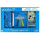 Yoobi | School & Office Supply Set | Gift for Kids | 16 Piece Office Essentials Set | Glad to Be Rad Blue