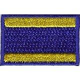 Everflag Patch zum Aufbügeln oder Aufnähen : Signalflagge D - Klein