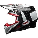 BELL Cascos MX 2017Moto-9Flex adultos casco, Vice negro/blanco, tamaño pequeño