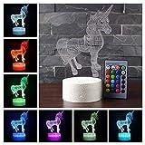 Zoom IMG-1 xeuyutr unicorn led night light