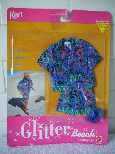 1992 Ken Glitter Beach outfit