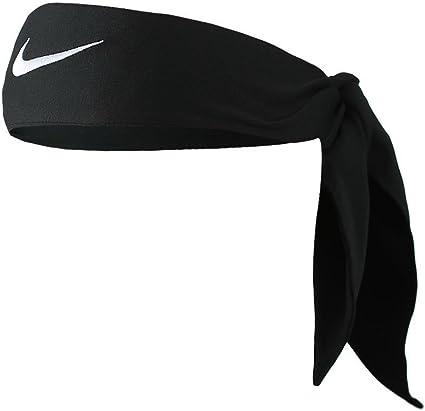 Leyes y regulaciones Helecho Deber  Amazon.com : Nike Dri-Fit Head Tie 2.0 (Black/White) : Clothing