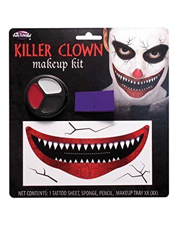 Palmers Halloween Big Smile Killer Clown Make-Up Kit by